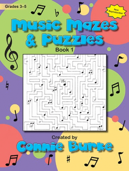 Music Mazes & Puzzles, Book I