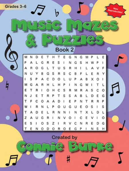 Music Mazes & Puzzles, Book II