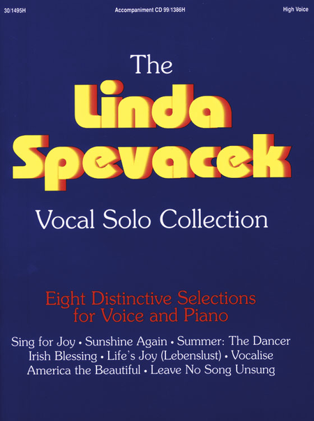 Linda Spevacek Vocal Solo Collection - High Voice