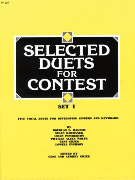 Selected Duets for Contest, Set I