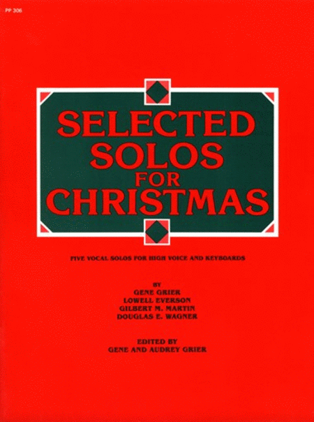 Selected Solos for Christmas - High Voice