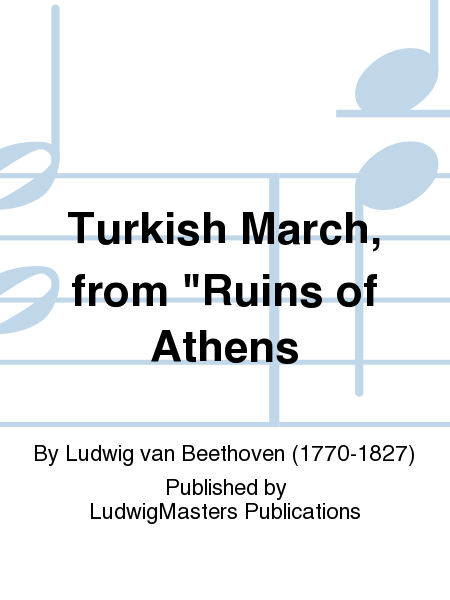 Turkish March, from
