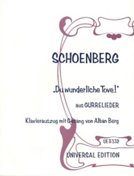 Lied Waldemars: Du Wunderliche Tove