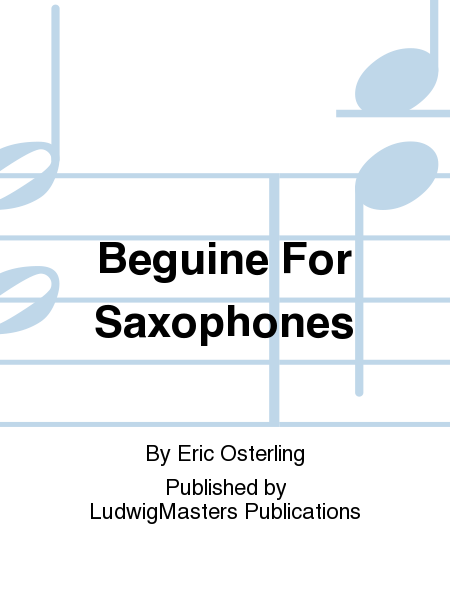 Beguine For Saxophones