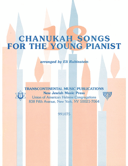 18 Chanukah Songs for the Young Pianist