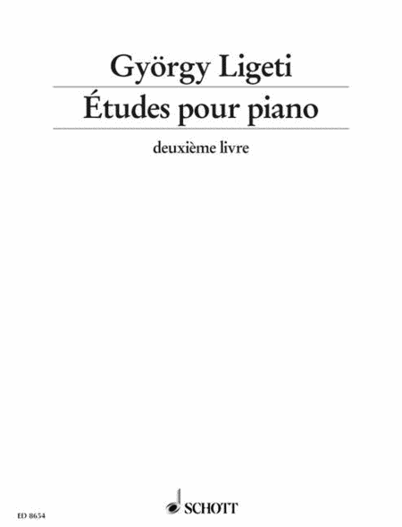 Etudes for Piano - Volume 2