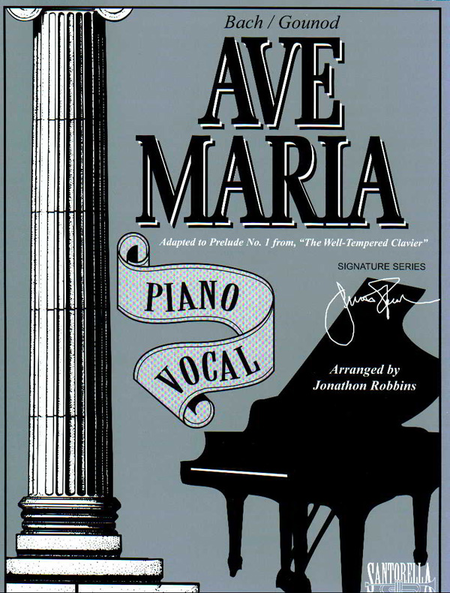 Ave Maria * Piano Vocal Edition * Bach - Gounod