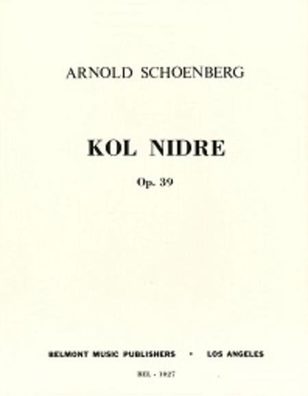 Kol Nidre, Op. 39