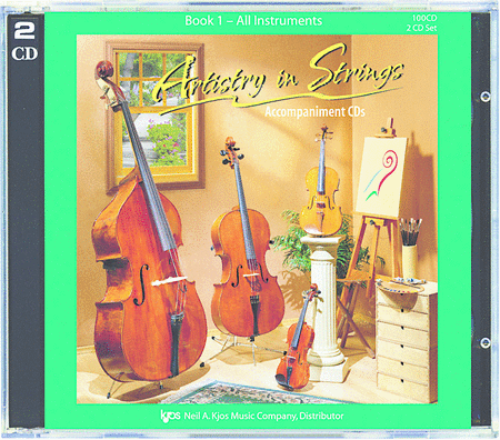 Artistry In Strings, Book 1 - (CD Only)