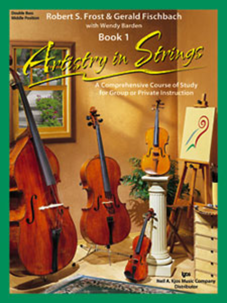 Artistry In Strings, Book 1 - Double Bass-Middle Position (Book & 2-CD)