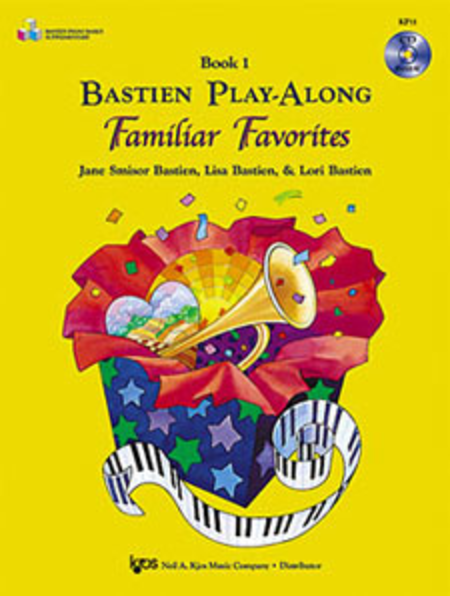Bastien Play-Along Familiar Favorites, Book 1 (Book & CD)