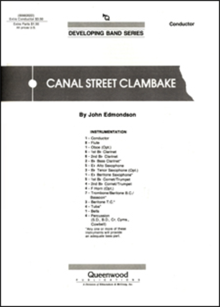 Canal Street Clambake - Score