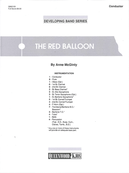 The Red Balloon - Score
