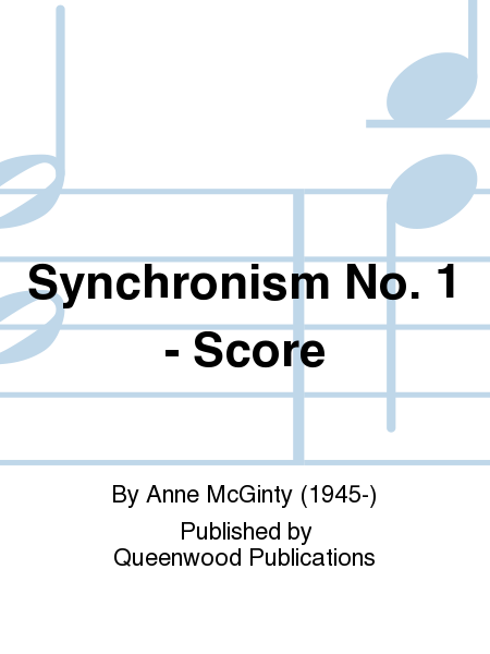 Synchronism No. 1 - Score