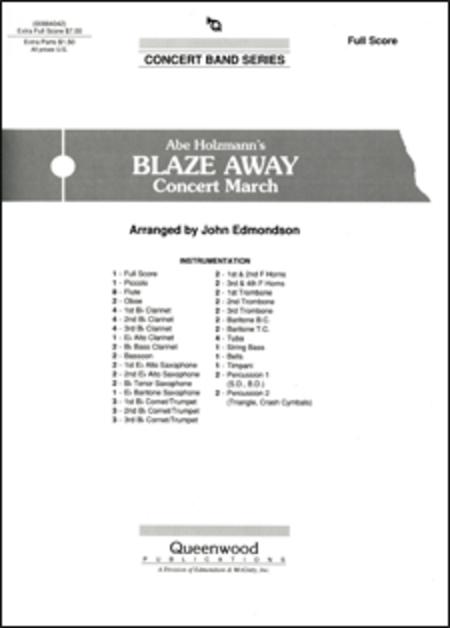 Blaze Away - Score