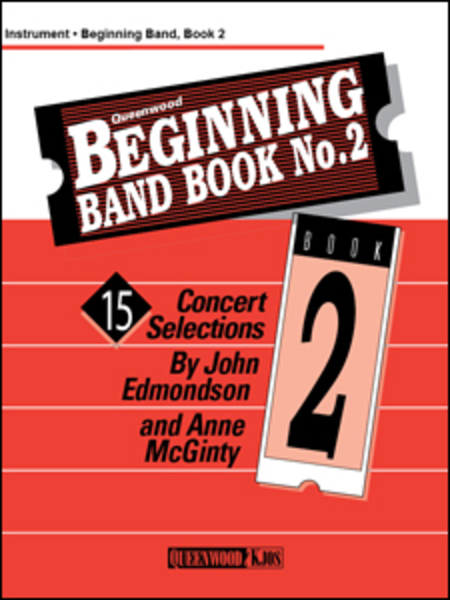 Beginning Band Book No. 2 - Conductor/CD