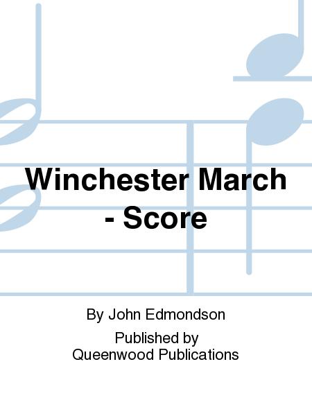 Winchester March - Score