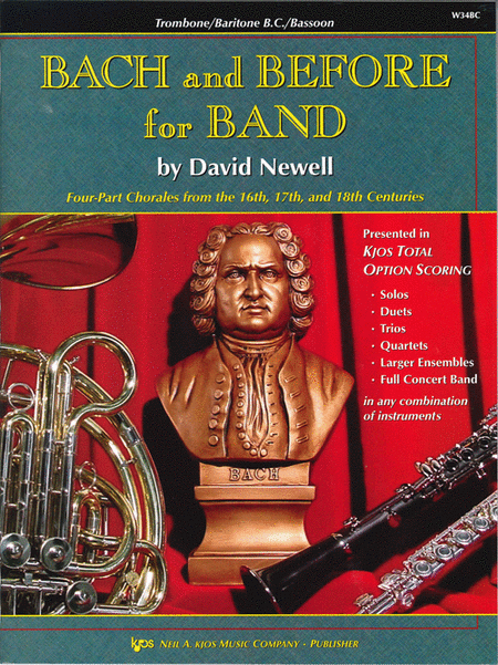 Bach and Before for Band - Trombone/Baritone B.C./Bassoon
