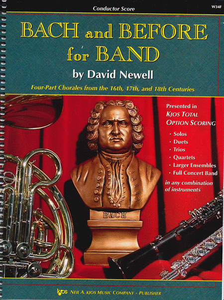 Bach and Before for Band - Score