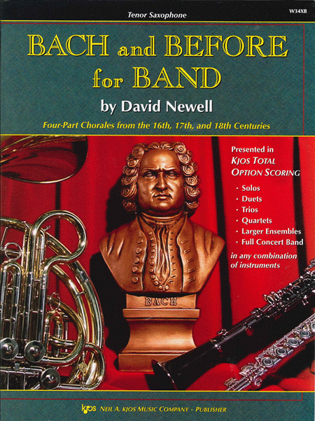 Bach and Before for Band - Bb Tenor Saxophone