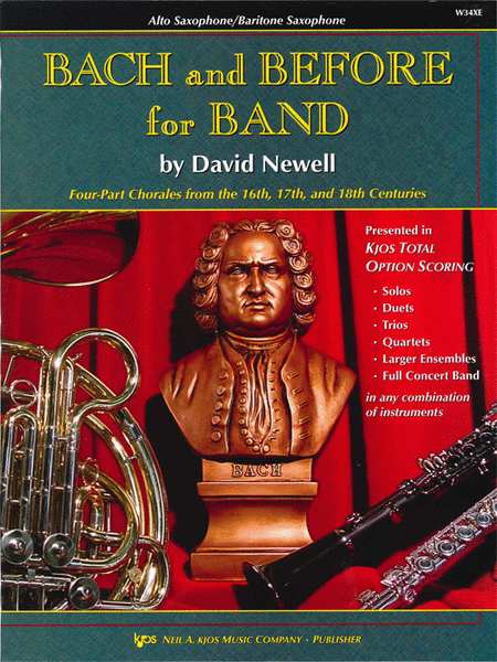 Bach and Before for Band - Eb Alto & Baritone Saxophone