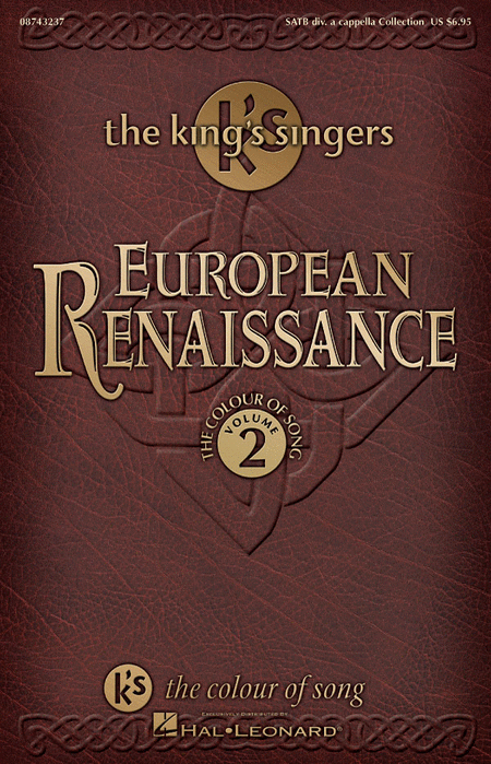European Renaissance (Collection - The Colour of Song, Vol. 2)