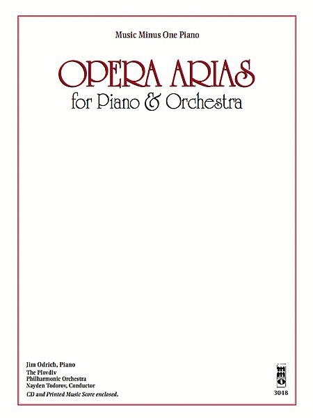 Opera Arias for Piano & Orchestra