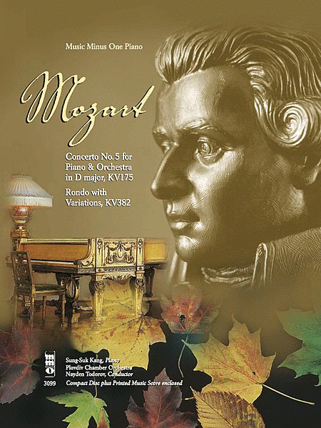 Mozart - Concerto No. 5 in D Major, KV175 & Rondo with Variations, KV382
