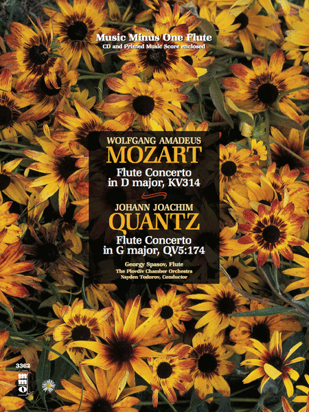 Mozart - Flute Concerto No. 2 in D Major, K. 314; Quantz - Flute Concerto in G Major