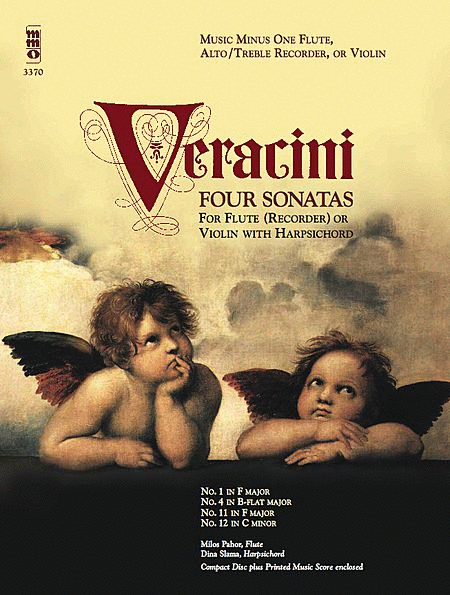 VERACINI: Four Sonatas for Flute, Alto/Treble Recorder or Violin with Harpsichord