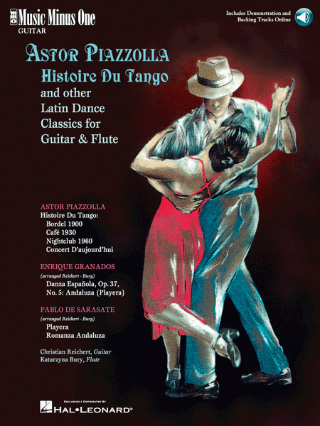 Astor Piazzolla - Histoire Du Tango and Other Latin Classics for Guitar & Flute