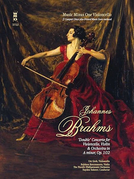 Brahms' Double Concerto for Violoncello & Violin in A minor, Op. 102 (3 CD set)