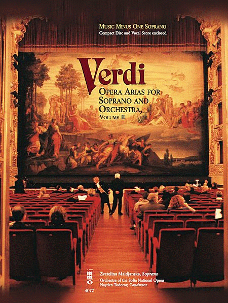 Verdi - Opera Arias for Soprano & Orchestra, Volume II