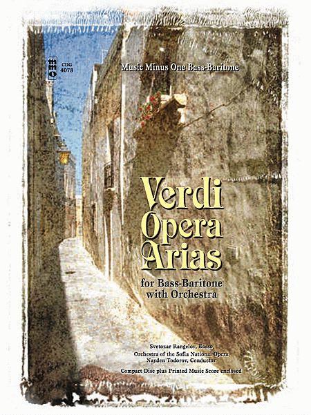 VERDI: Bass-Baritone Arias with Orchestra