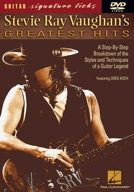 Stevie Ray Vaughan's Greatest Hits (DVD)
