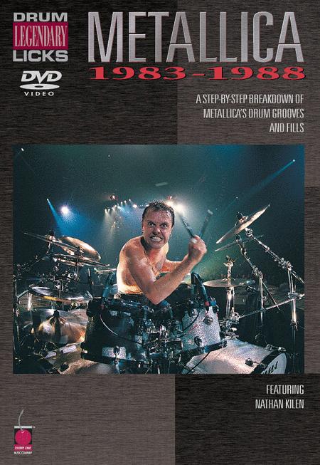 Metallica - Legendary Licks Drums 1983-1988 DVD