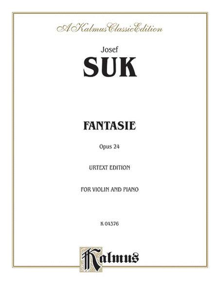 Fantasie, Op. 24 - Violin/Piano