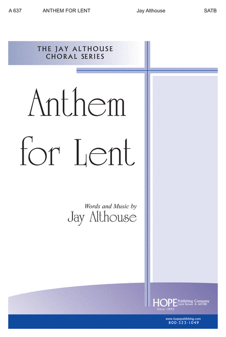 Anthem for Lent