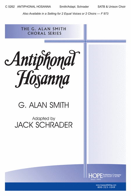 Antiphonal Hosanna