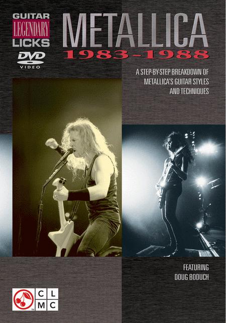 Guitar Legendary Licks 1983-1988 - DVD
