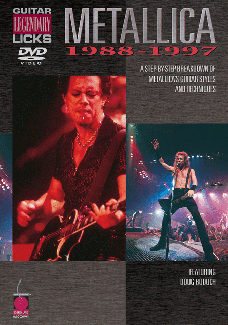 Guitar Legendary Licks 1988-1997 (DVD)