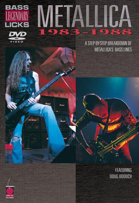 Bass Legendary Licks 1983-1988 - DVD