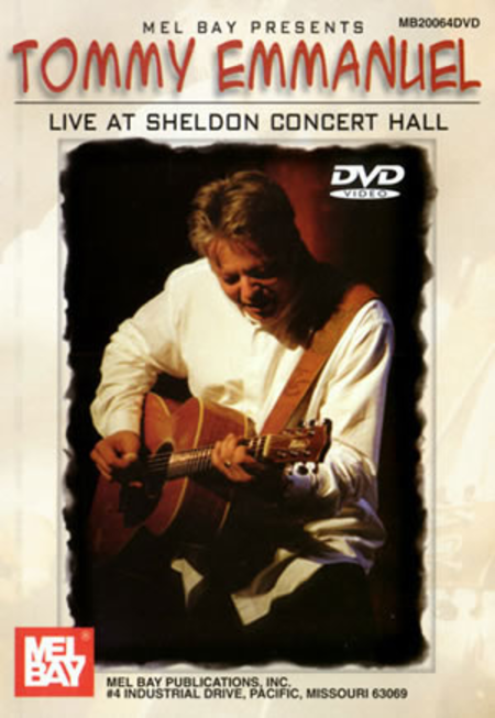 Live at Sheldon Concert Hall (DVD)