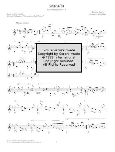 Antonio Lauro Works for Guitar, Volume 1