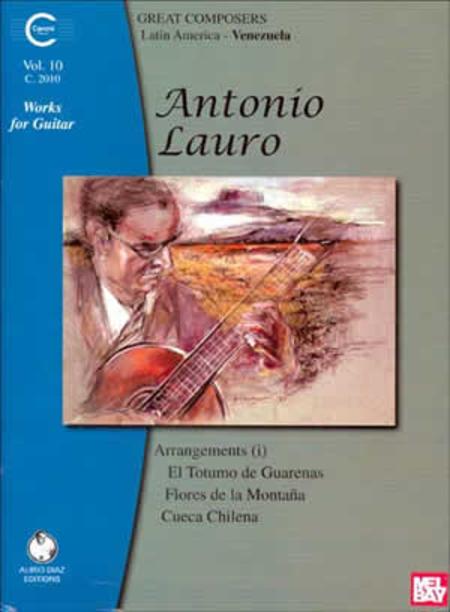 Antonio Lauro Works for Guitar, Volume 10