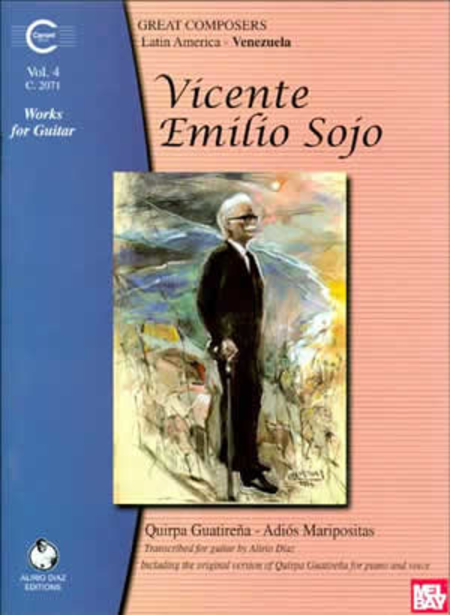 Sojo V.E. Works for Guitar, Volume 4