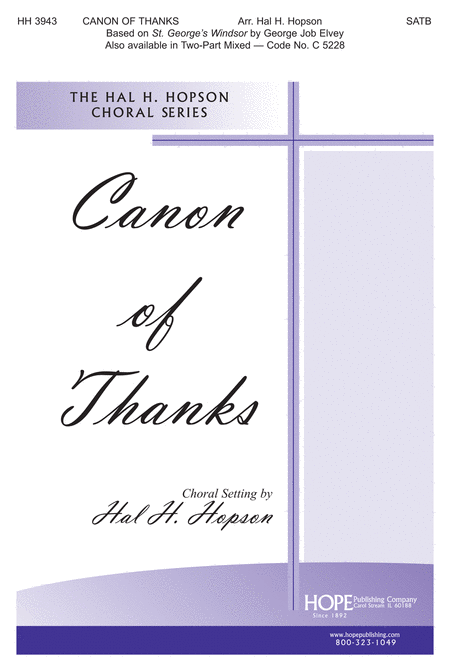 A Canon of Thanks