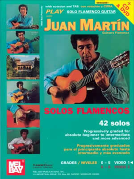 Play Solo Flamenco Guitar with Juan Martin (Book, CD, and DVD)