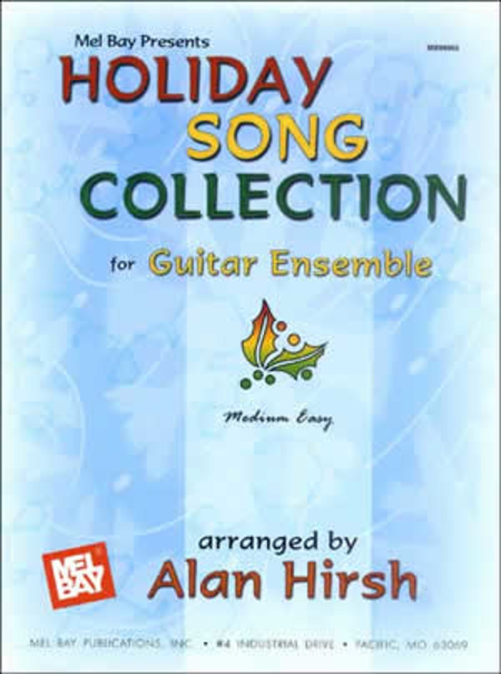 Holiday Song Collection for Guitar Ensemble