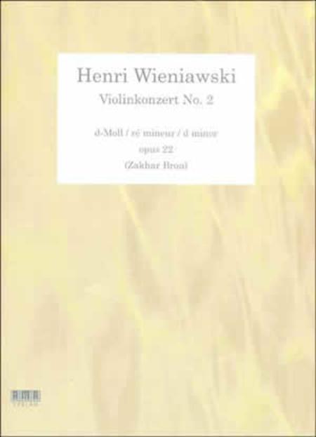 Henri Wieniawski - Violinkonzert No. 2